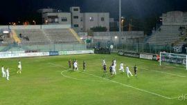 Brindisi-Uggiano, biancazzurri beffati nel finale: finisce in parità
