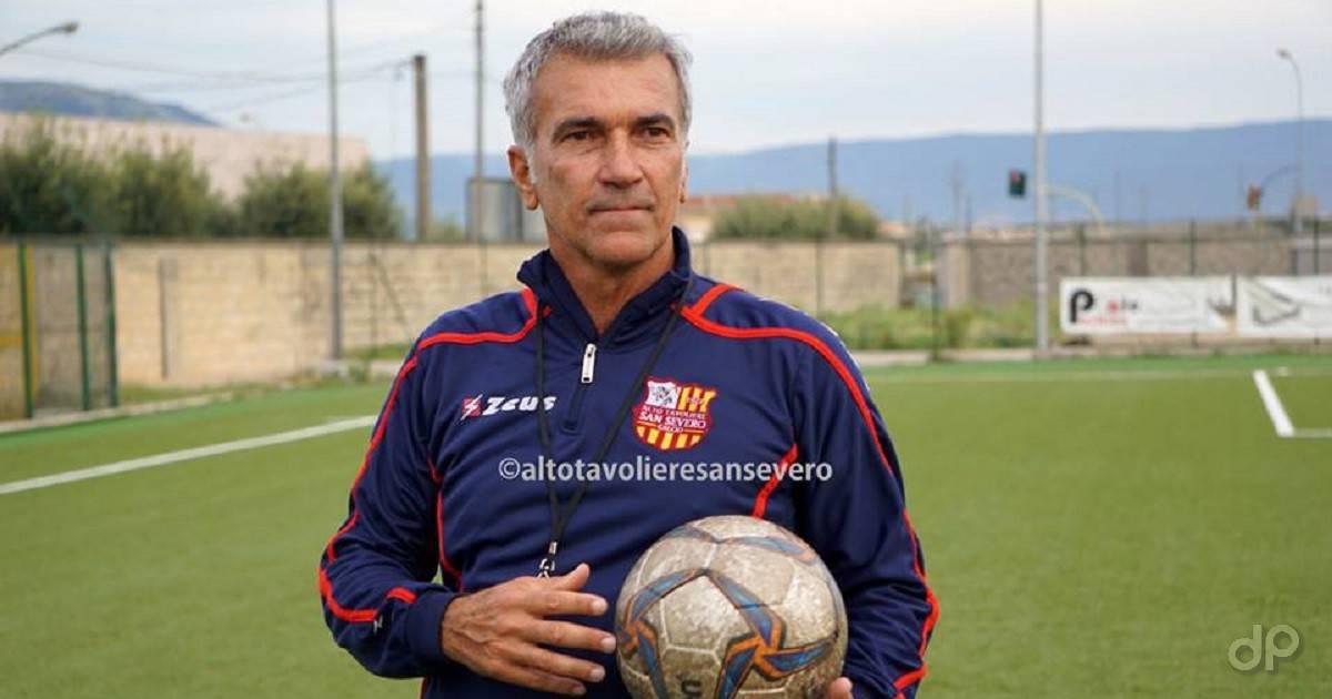 Domenico Giacomarro allenatore San Severo 2017