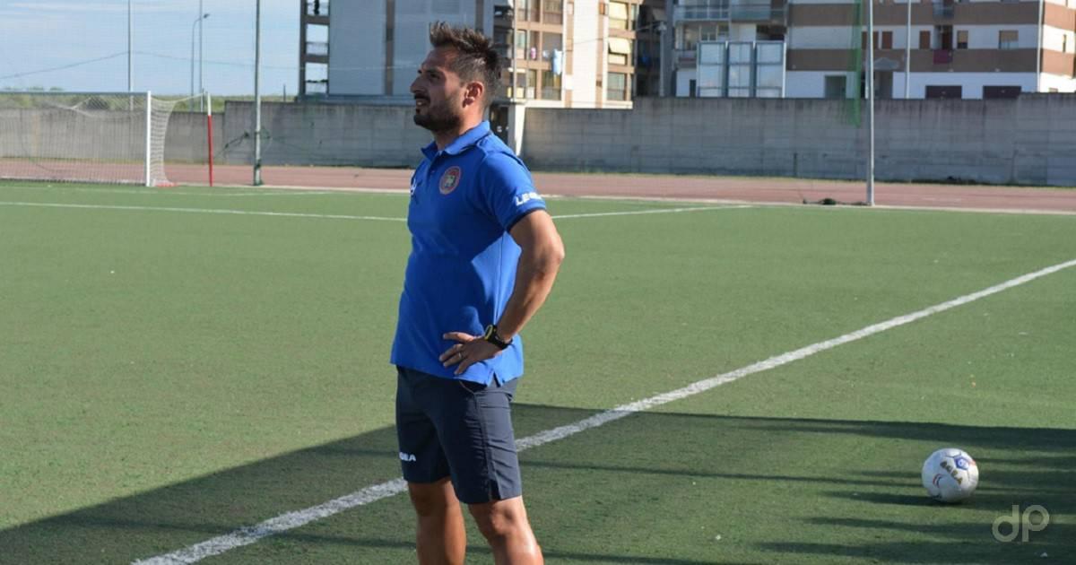 Giuseppe Scaringella allenatore Corato 2017