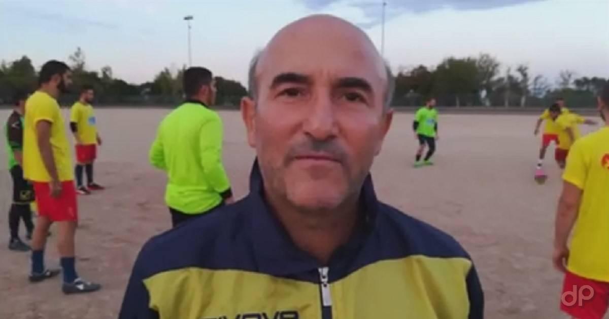 Maurizio De Pace allenatore Real Galatone 2017