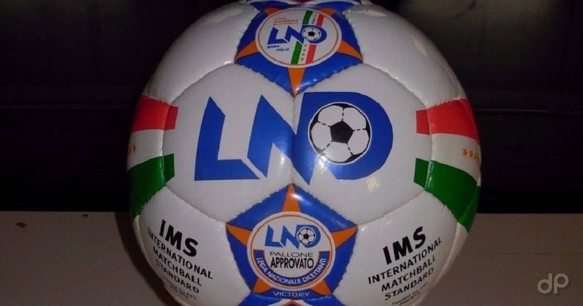 Primo piano di un pallone LND da esposizione