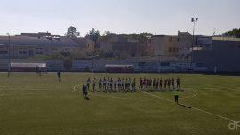 Sporting Apricena-Atletico Acquaviva, sconfitta con rammarico per i rossoblù