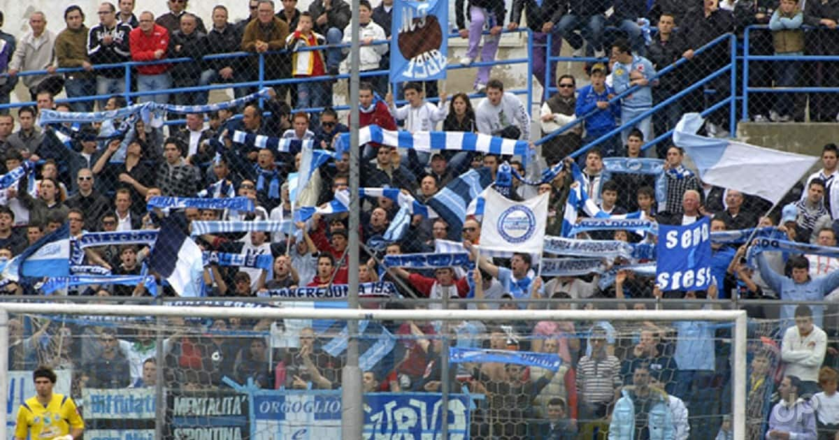 I tifosi del Manfredonia sugli spalti
