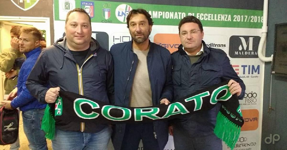 Vito Castelletti allenatore Corato 2017
