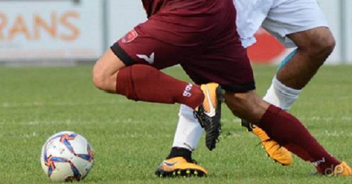 Dettaglio calciatori dilettanti pallone