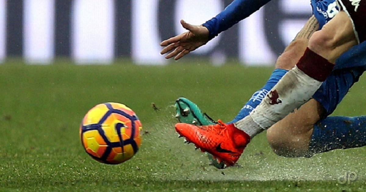 Dettaglio calciatori Serie A con pallone