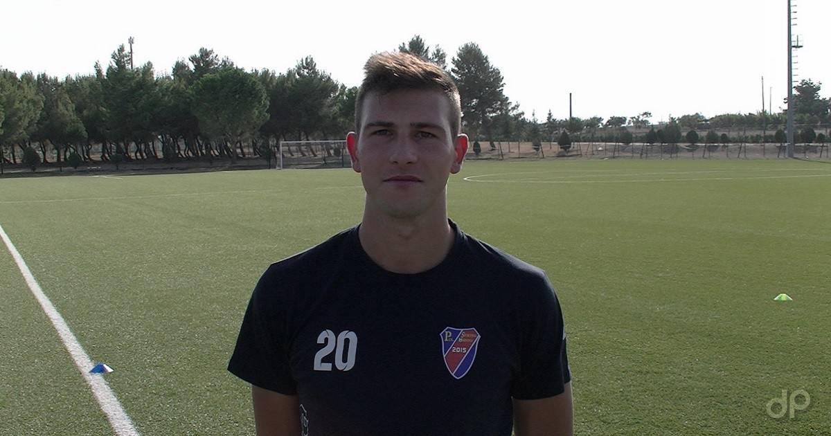 Fabrizio Mascia allenatore Sporting Ordona 2017