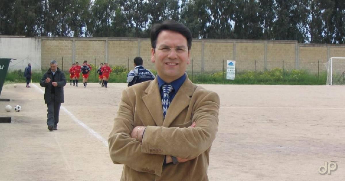 Giuseppe Stapane segretario Real Galatone 2017
