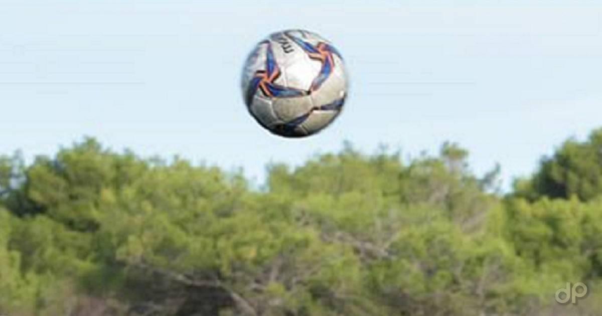 Pallone dilettanti in aria