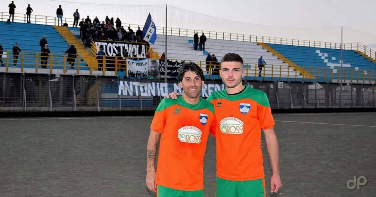 Alfredo Tenzone e Nicholas Caruso alla Vigor Moles 2017