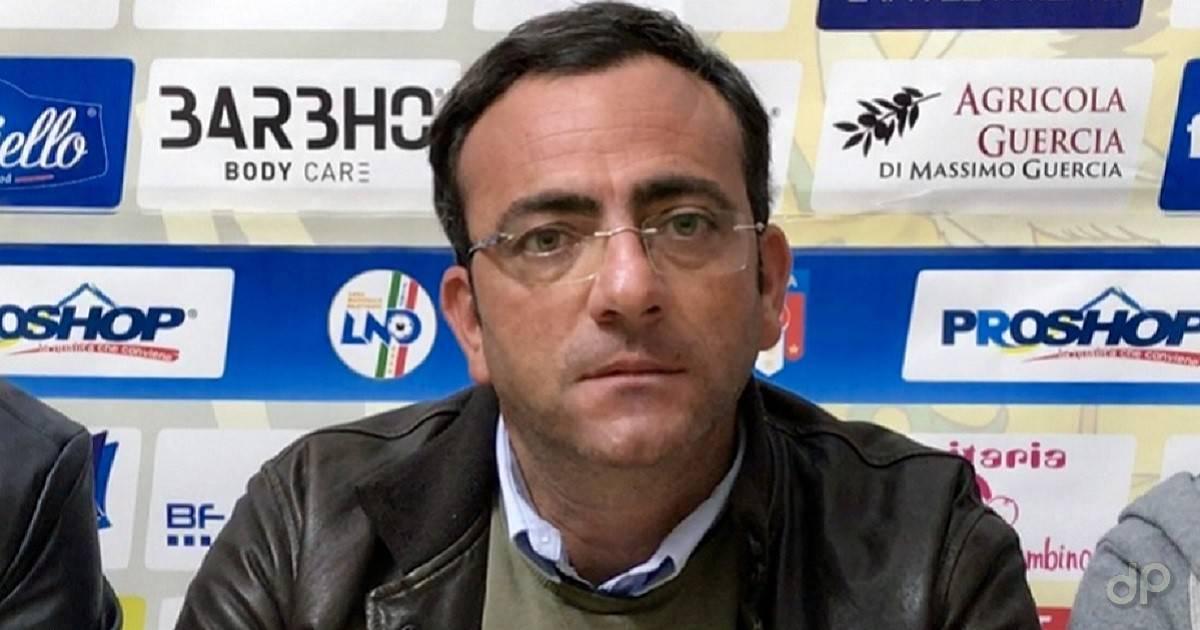 Teore Grimaldi allenatore Audace Cerignola 2017
