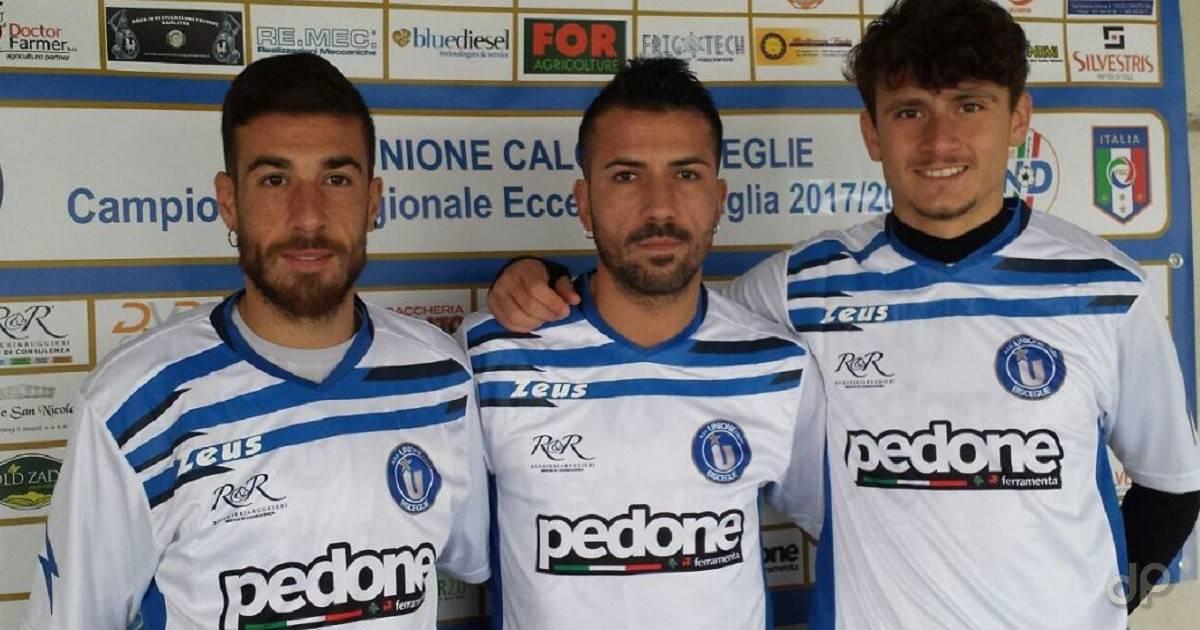 Bartoli, Grieco e Migngna all'UC Bisceglie 2017