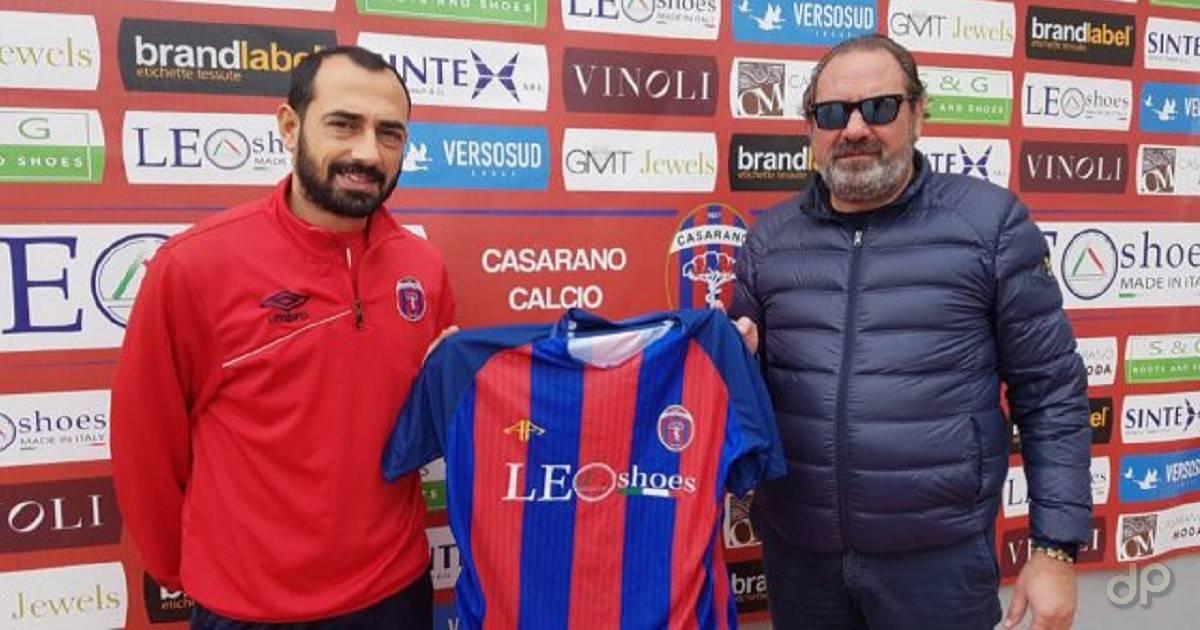 Carlo Vicedomini al Casarano 2017