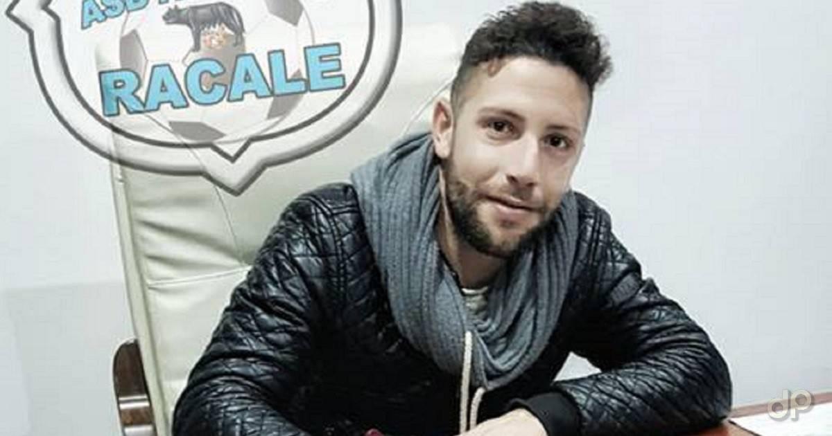 Gianluca Migali all'Atletico Racale 2017
