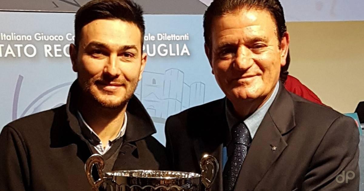 Premiazione Alessio Carrieri Martina