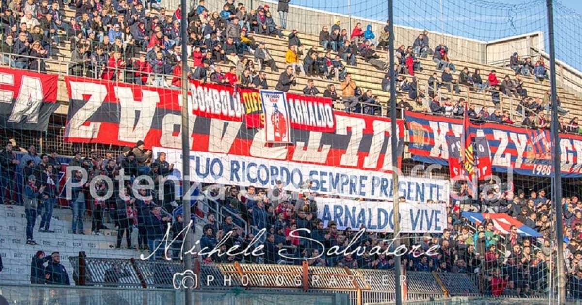 Tifosi Taranto-Potenza 2017