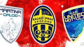 Beneficenza, venerdì 22 dicembre triangolare tra Crispiano, Martina e Mottola