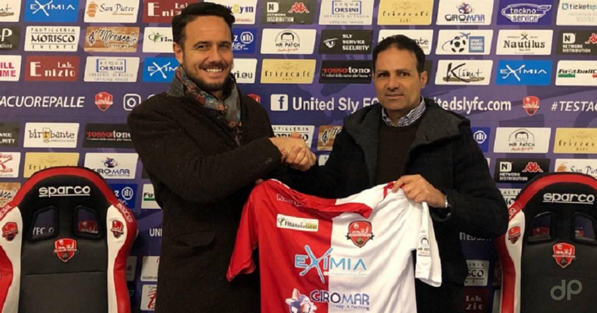 Francesco Battaglia alla United Sly 2018