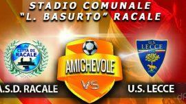 Città di Racale, cresce l'attesa per l'amichevole contro il Lecce