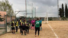 Atletico Veglie-Città di Racale, in campo con grinta e passione: la spuntano i biancazzurri