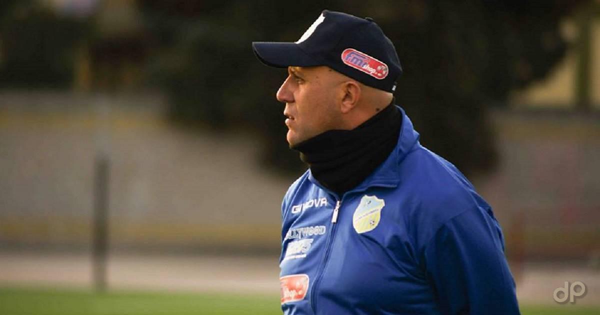 Michele Schiavone allenatore GC Cerignola 2018