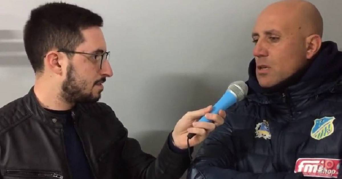Michele Schiavone allenatore Gioventù Calcio Cerignola 2018