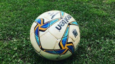 Pallone Lnd primo piano su erba