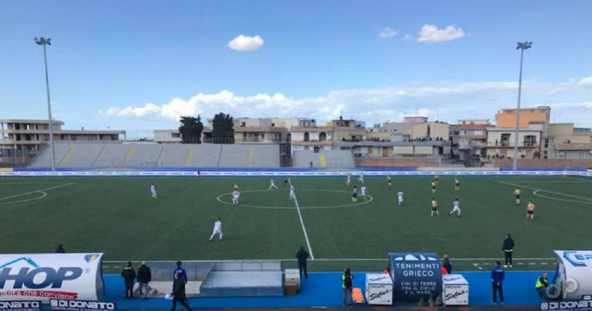 Audace Cerignola-Potenza Coppa Italia 2018
