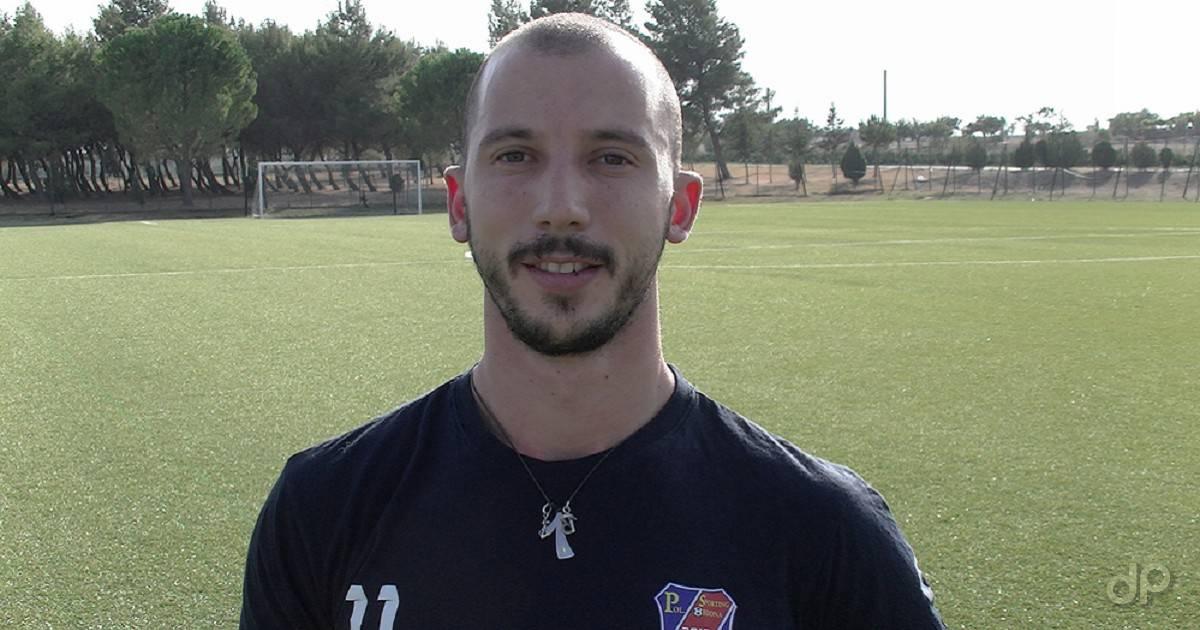 Fabio D'Introno allo Sporting Ordona 2018