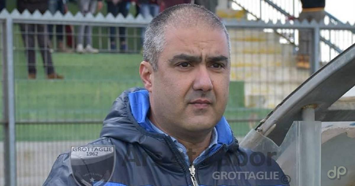 Mimmo Ligorio direttore sportivo del Grottaglie 2018