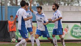 Molfetta Sportiva-UC Bisceglie, gli azzurri impattano per 1-1 contro i padroni di casa