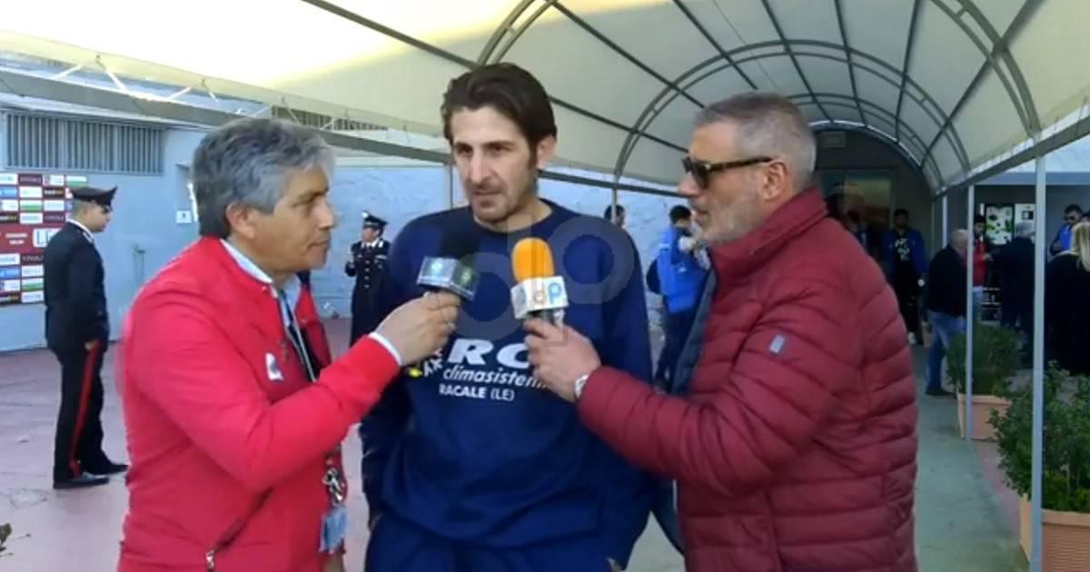 Alessandro Corallo allenatore Atletico Racale 2018