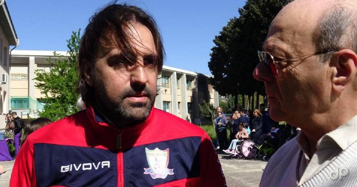 Enrico La Salandra allenatore Foggia Incedit 2018