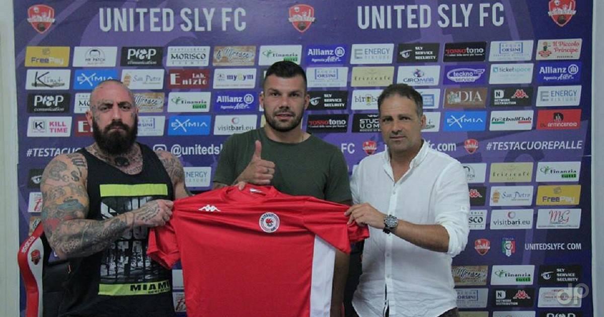 Giuseppe Lacarra alla United Sly 2018/19