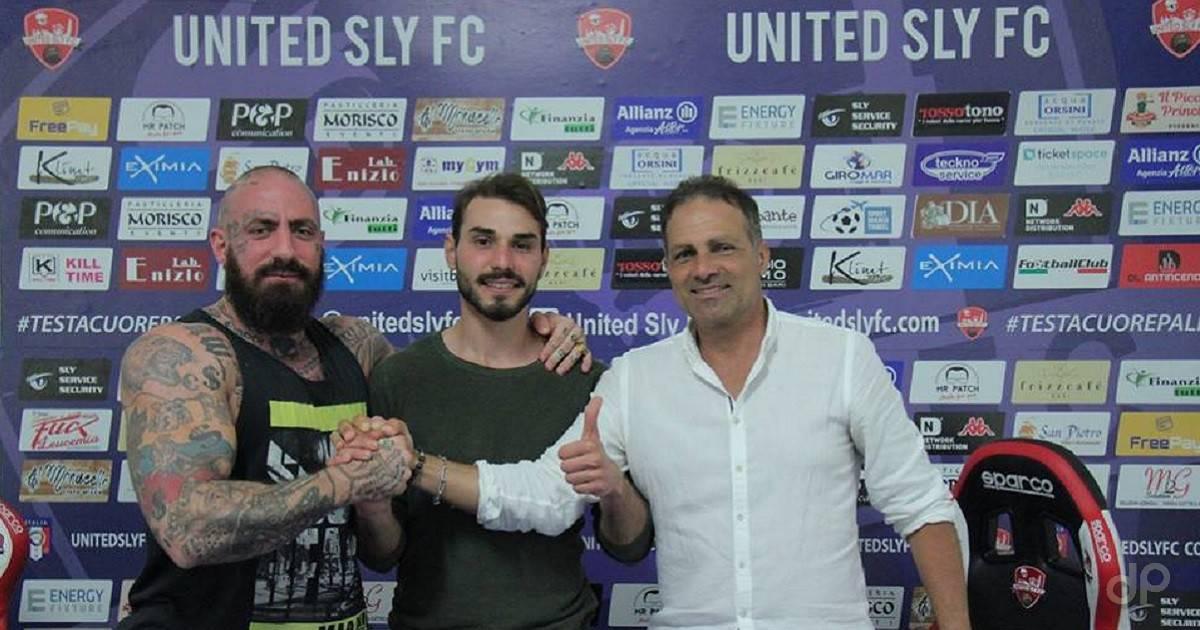 Pier Giuseppe Salvati alla United Sly 2018