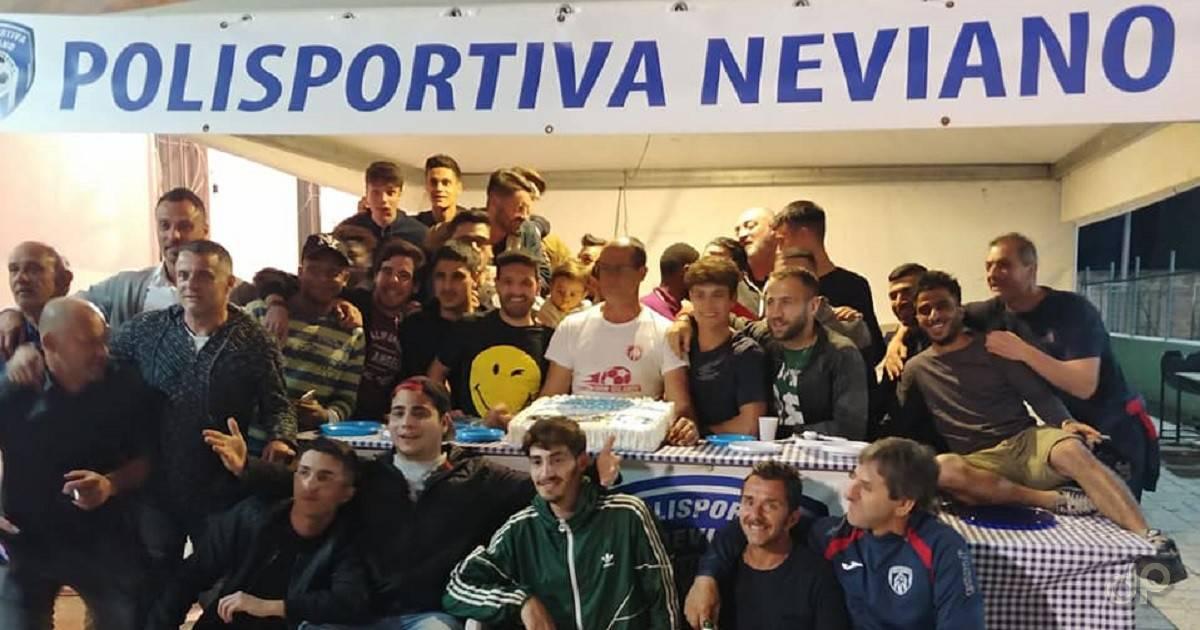 Polisportiva Neviano festa promozione 2018