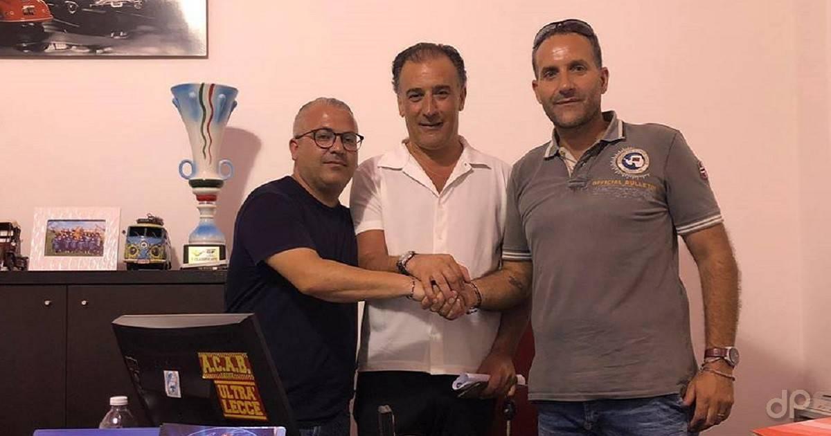 Franco Sabato allenatore del Città di Racale 2018