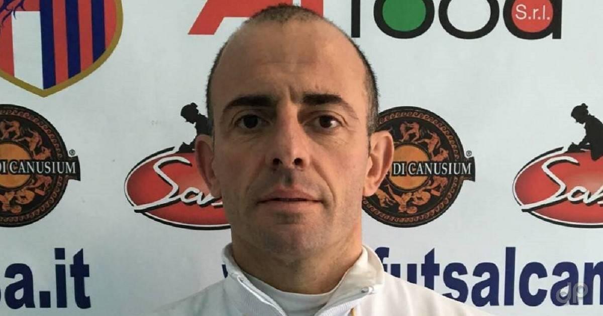 Gianluigi Trallo allenatore Canosa 2018