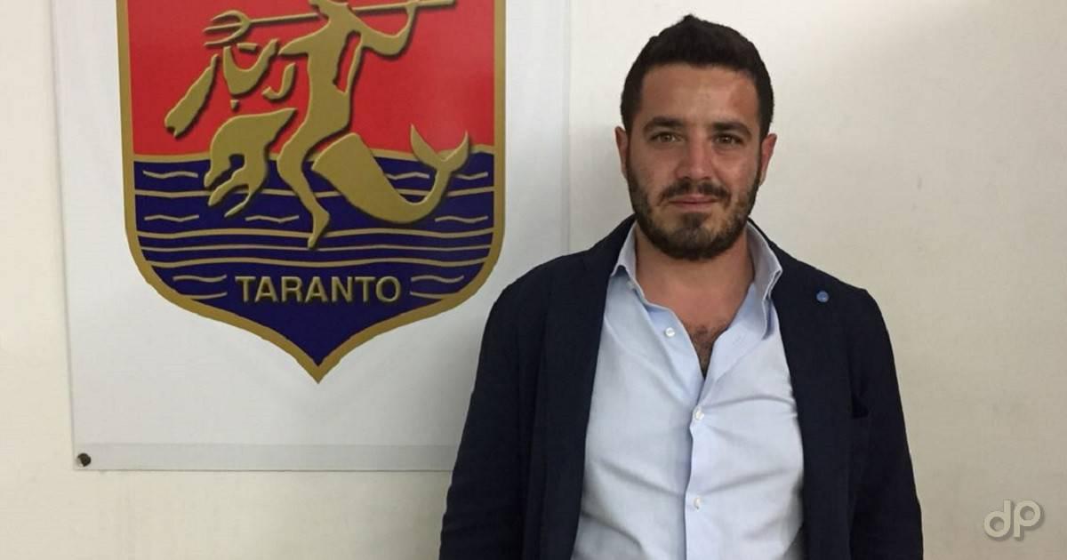 Lorenzo De Lista match analyst del Taranto 2018