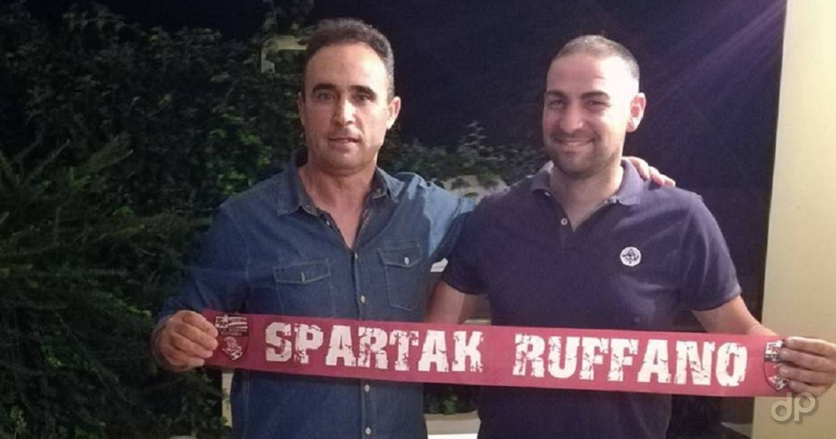 Salvatore Preite allenatore Ruffano 2018