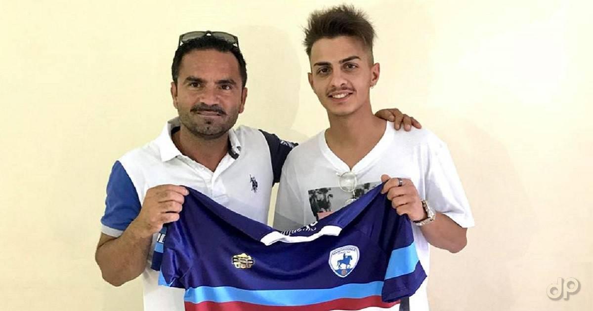 Alessio Gentile al Manfredonia FC 2018