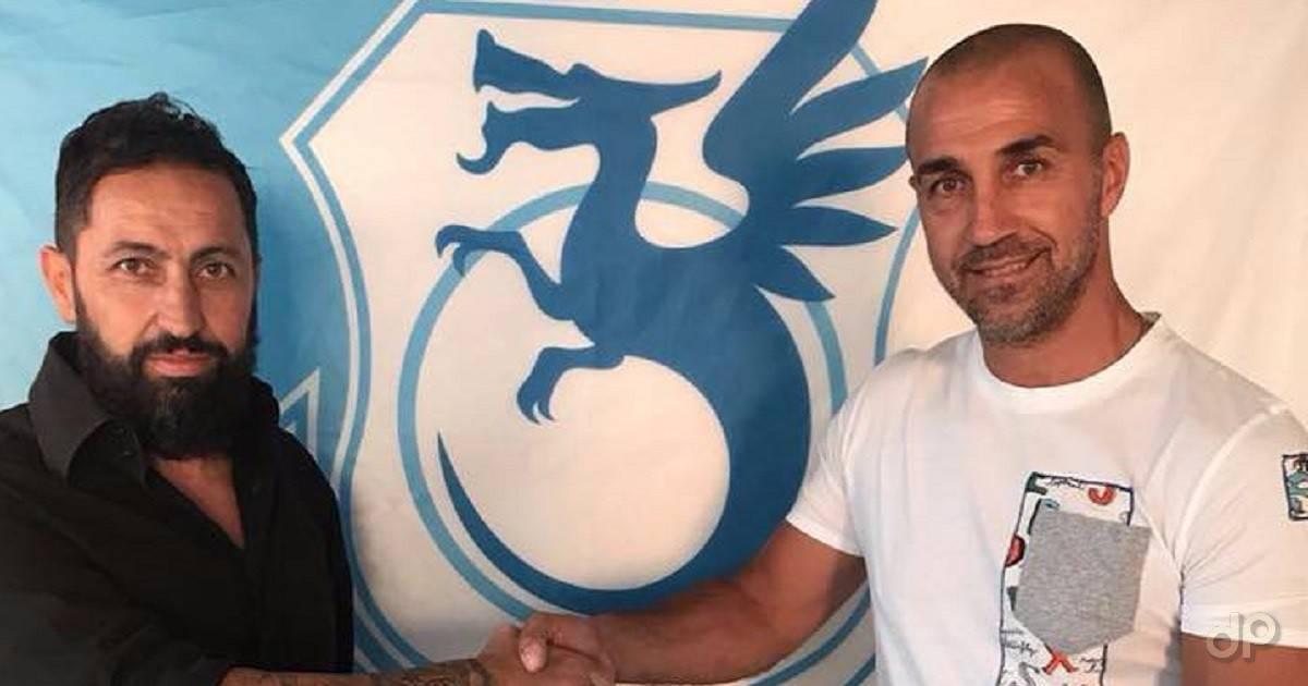 Benny Costantino allenatore Vigor Trani 2018