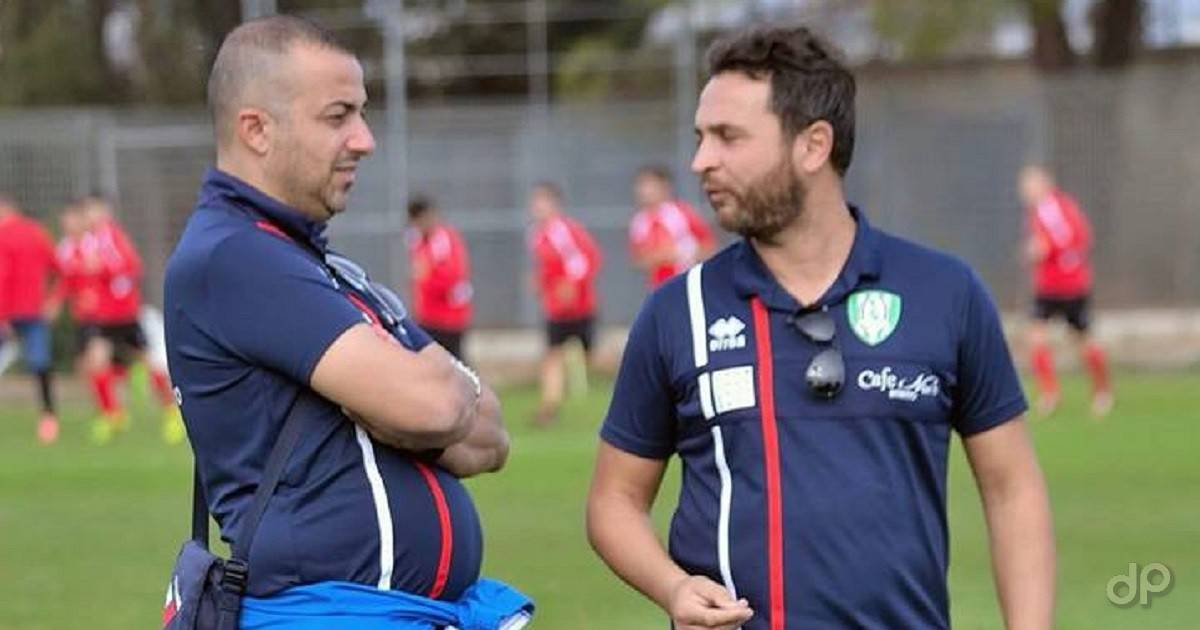 Michele Carella e Johnny Putorti allenatori Virtus Bitritto 2017