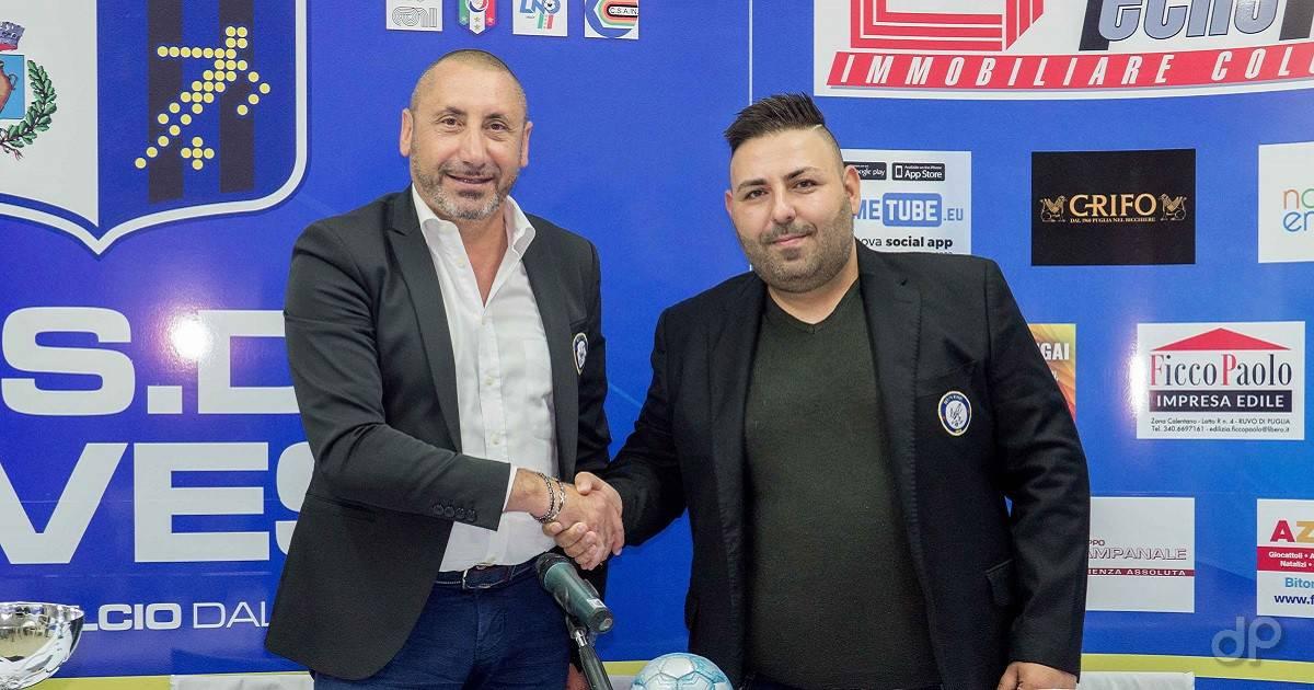 Damiano Giangaspero allenatore Ruvese 2018