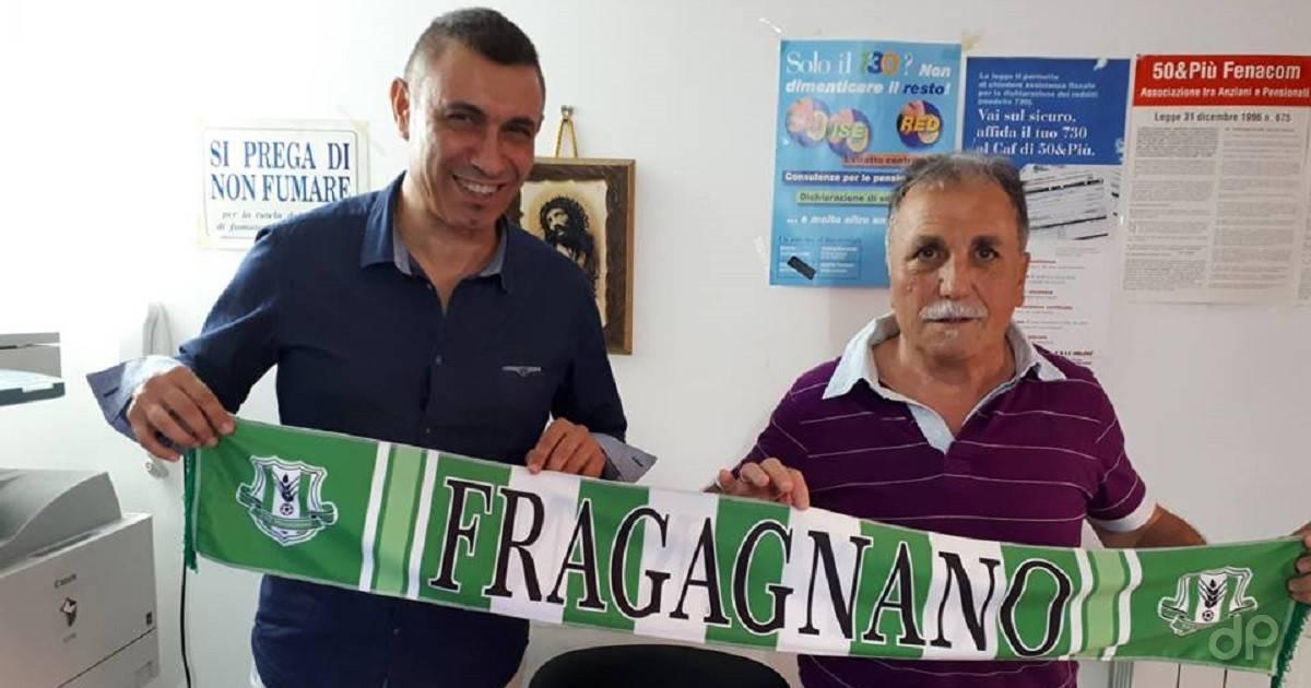 Angelo Friuli e Carmine Giuseppe Molino al Fragagnano 2018