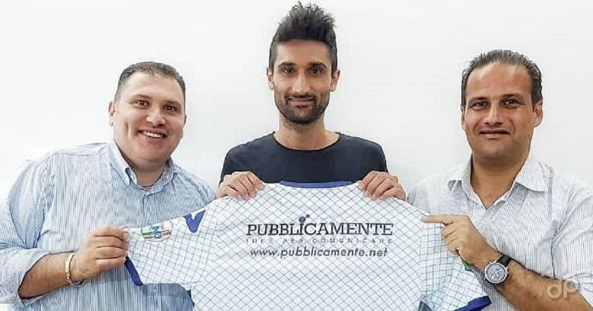 Gioacchino Garrapa all'Atletico Racale 2018