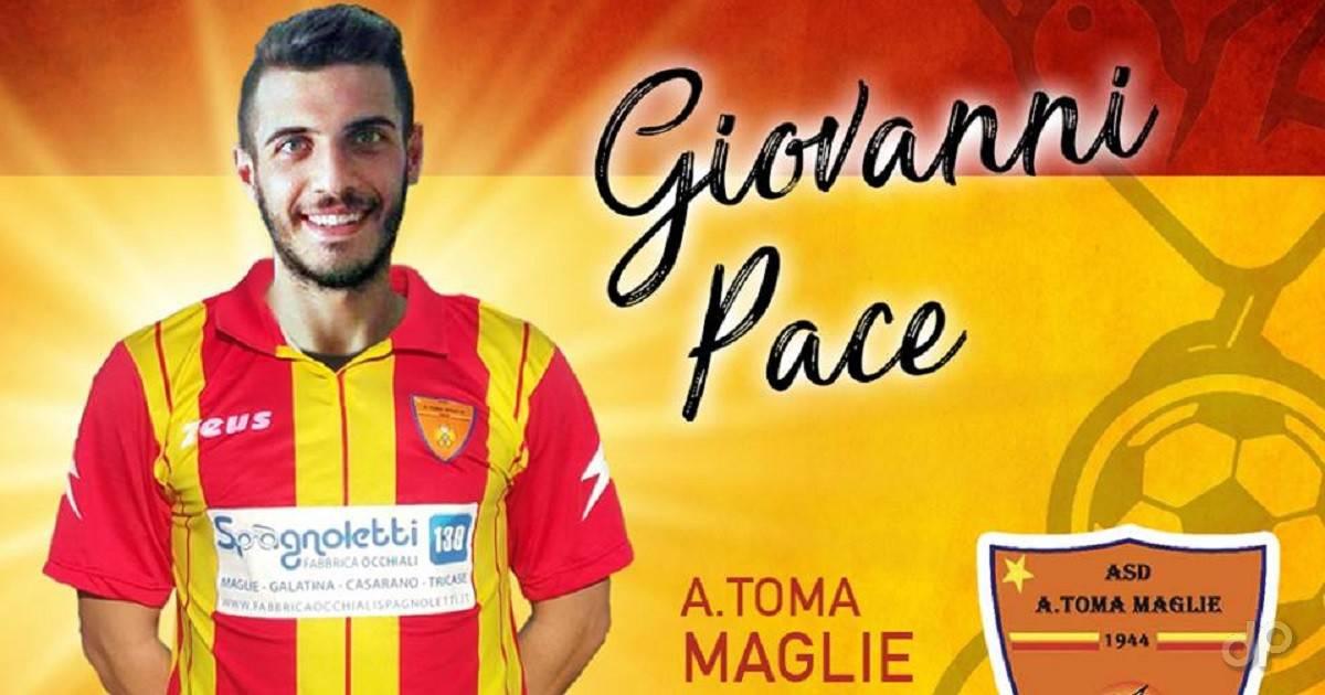 Giovanni Pace al Maglie 2018