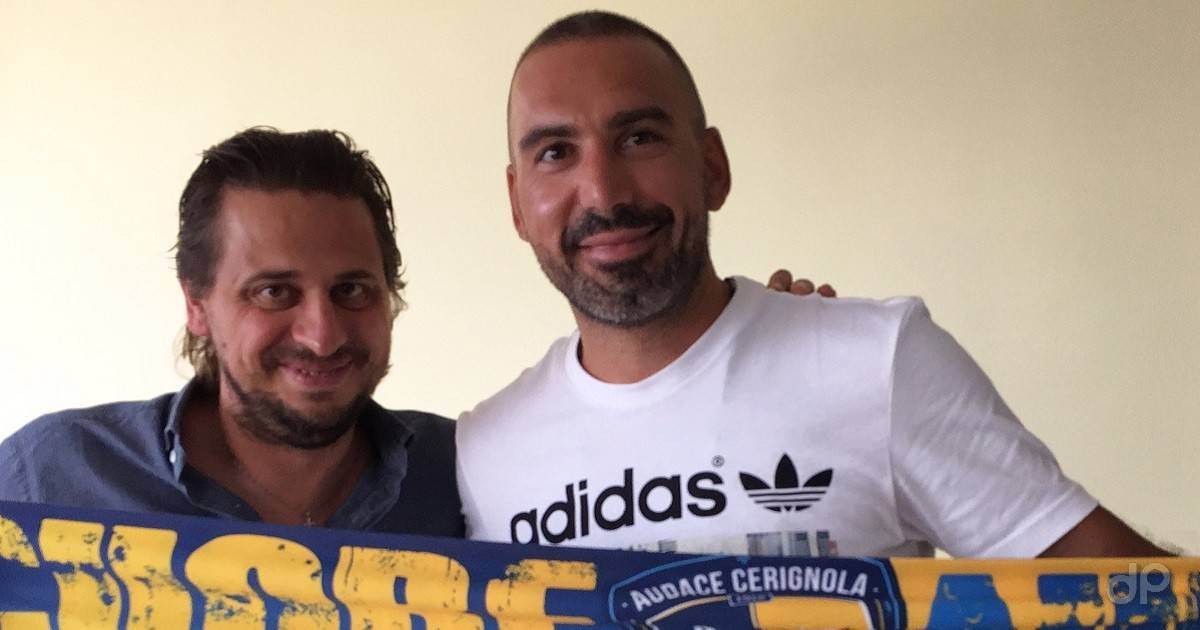 Giuseppe Abruzzese all'Audace Cerignola 2018