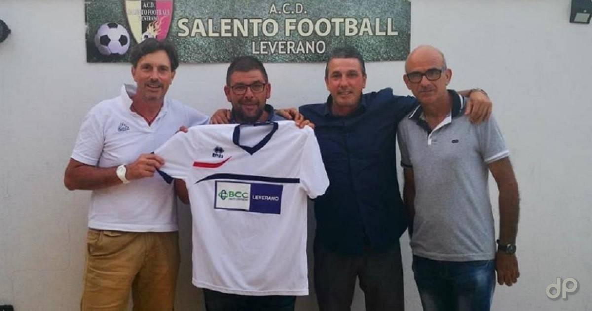 Luca Spagnolo alla Salento Football Leverano 2018