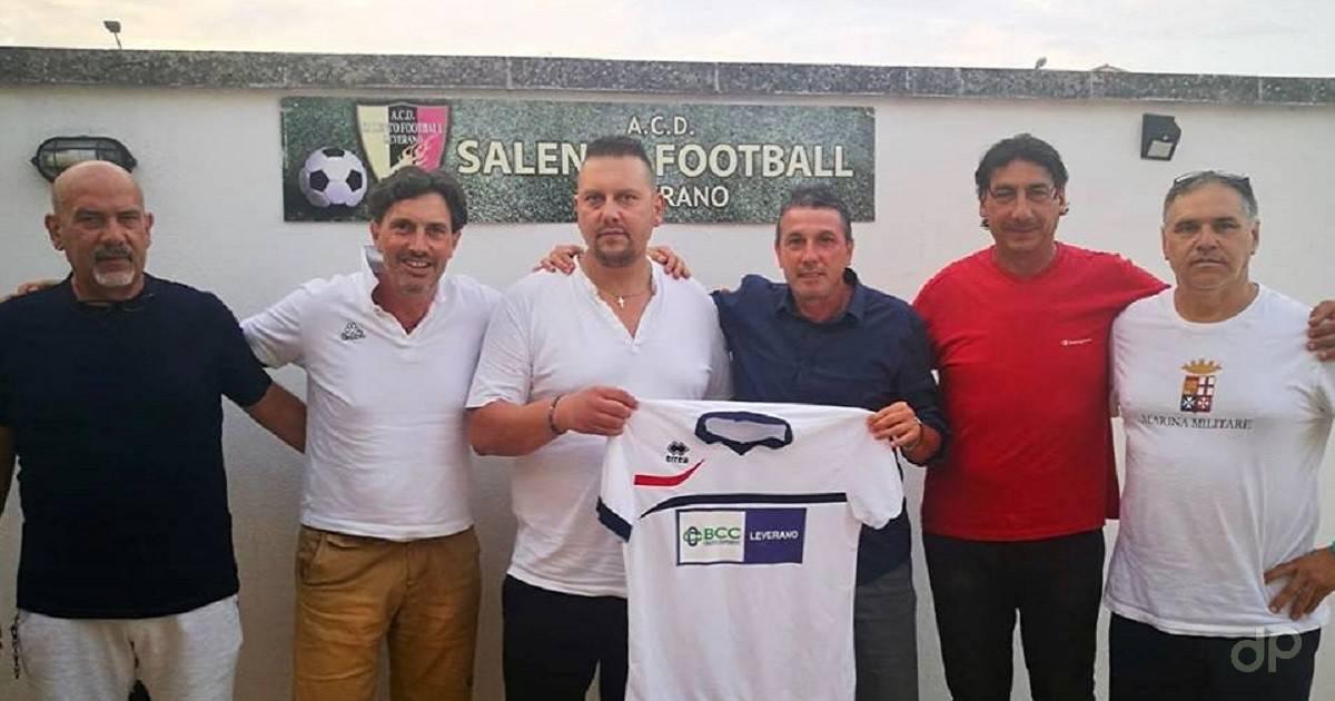 Marco Cannalire allenatore Salento Football Leverano 2018